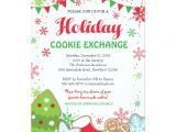 Cookie Swap Party Invitations Templates Holiday Cookie Exchange Invitation Cookie Swap Zazzle