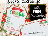 Cookie Swap Party Invitations Templates How to Host A Cookie Exchange Free Printable Invitations