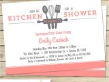 Cooking themed Bridal Shower Invitations Kitchen Bridal Shower Invitation Customize Colors