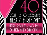 Cool 40th Birthday Invitations Pictures Of Stylish Women for 40th Birthday Invitation