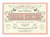 Cool Bridal Shower Invitations Unique Vintage Bridal Shower Invitations