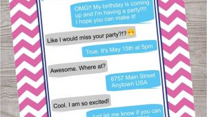 Cool Party Invites for Teenager 21 Teen Birthday Invitations Inspire Design Cards