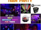 Cool Party Invites for Teenager Glow In the Dark Teen Party Ebay