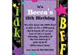 Cool Party Invites for Teenager Teen Talk Birthday Party Invitations Paperstyle