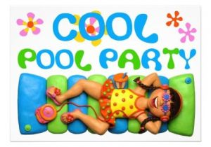 Cool Pool Party Invitation Ideas 1000 Images About Kids Birthday Invitations On Pinterest