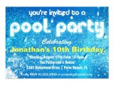 Cool Pool Party Invitation Ideas Cool Pool Party Invitation