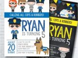 Cops and Robbers Party Invitations Best 25 Police Birthday Parties Ideas On Pinterest