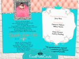 Coral Quinceanera Invitations Change Colors Buy Our Quinceanera Invites Coral and Aqua
