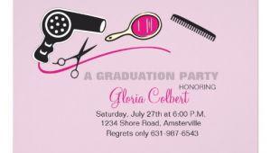 Cosmetology Graduation Invitations Beautician Beauty School Graduation Invites 5 Quot X 7