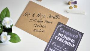 Cost Of Diy Wedding Invitations How to Make Affordable Chalkboard Wedding Invitations Ej