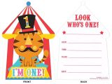 Cost Of Party Invitations 1st First Birthday Circus Fisher Price Party Supplies