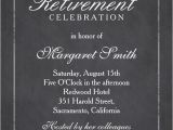 Cost Of Party Invitations Elegant Chalkboard Retirement Party Invitation Template