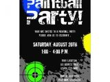 Cost Of Party Invitations Karri Best Price Paintball Party Invitations Custom