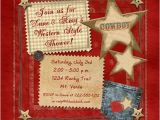 Country Baby Shower Invites Co Ed Country Baby Shower Invitation Happy Parents Western