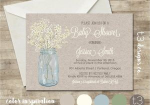 Country Baby Shower Invites Country Baby Shower Invitation Rustic Baby Shower Invite
