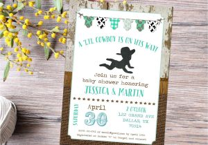 Country Baby Shower Invites Country Baby Shower Invitations Wblqual Com