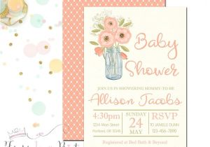 Country Baby Shower Invites Rustic Baby Shower Invitation Country Baby by