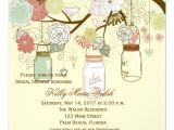 Country Bridal Shower Invites Country Rustic Mason Jar Bridal Shower Invites 5 25