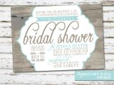 Country Bridal Shower Invites Country Rustic theme Bridal Shower Invitation by Meghilys