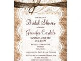 "Country Bridal Shower Invites Rustic Country Burlap Bridal Shower Invitations 4 5"" X 6"