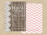 Country Chic Bridal Shower Invites 5×7 Country Chic Bridal Shower Invitation by Paisleylndesigns