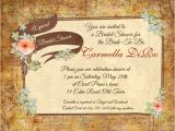 Country Chic Bridal Shower Invites Country Chic Bridal Shower Invitation Rustic Personalized