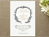 Country Chic Bridal Shower Invites Floral Bridal Shower Invitations Rustic Wedding Chic