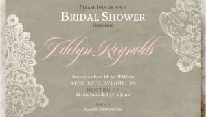 Country Chic Bridal Shower Invites Printable Wedding Invitations by Divine Charm Digital