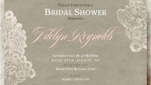 Country Chic Bridal Shower Invites Printable Wedding Invitations by Divine Charm Digital