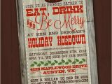 Country Christmas Party Invitations Western Christmas Invitation Country Christmas Invitation