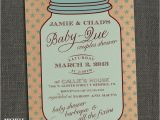 Country Style Baby Shower Invitations Mason Jar Country Style Baby Shower Invitation Baby