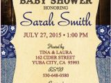 Country themed Baby Shower Invitations Baby Shower Invitations Country theme Set Of 10 Printed