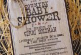 Country themed Baby Shower Invitations Country Baby Shower Printables Print It by