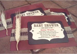 Country themed Baby Shower Invitations Whining Siren Country themed Baby Shower Invites