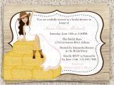 Country themed Bridal Shower Invitations Bridal Shower Invitations Bridal Shower Invitations