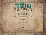Country themed Bridal Shower Invitations Bridal Wedding Shower Invitation She S Roped Her Man