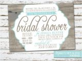 Country themed Bridal Shower Invitations Country Rustic theme Bridal Shower Invitation by Meghilys