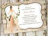 Country themed Bridal Shower Invites Vintage Garden Country Bridal Shower Invitations Online