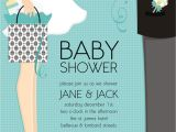 "Couple Baby Shower Invitation Wording Quick View Dm In 287 ""classic Couple Baby Shower"
