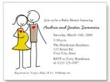 Couple Baby Shower Invitation Wording Unique White Couples Baby Shower Invitations Bs064