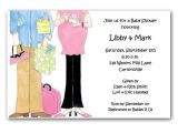 Couple Baby Shower Invites Expecting Couple Baby Shower Invitations