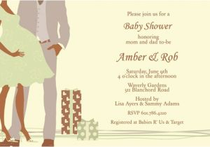 Couples Baby Shower Wording On Invitations June 2012