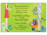 Couples Bridal Shower Invitation Wording Samples All the Joys Couples Shower Invitations Paperstyle