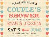 Couples Wedding Shower Invitations Templates Free Bridal Shower Invitations Couples Wedding Shower