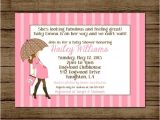 Couture Baby Shower Invitations Items Similar to Couture Baby Shower Invitation Baby