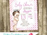 Couture Baby Shower Invitations Juicy Couture Baby Shower Invitation Princess Crown