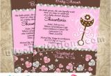 Couture Baby Shower Invitations Juicy Couture Baby Shower Invitations Personalized