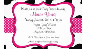 Cow Print Baby Shower Invitations 6 000 Cow Invitations Cow Announcements & Invites