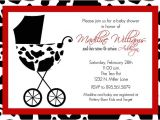 Cow Print Baby Shower Invitations Items Similar to Madiline Custom Baby Baby Shower