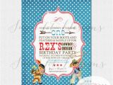 Cowboy and Indian Party Invitations Vintage Cowboy and Indian Invitation Cowboys by